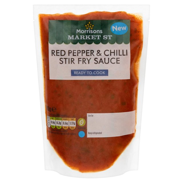 Morrisons Market St Red Pepper & Chilli Stir Fry Sauce