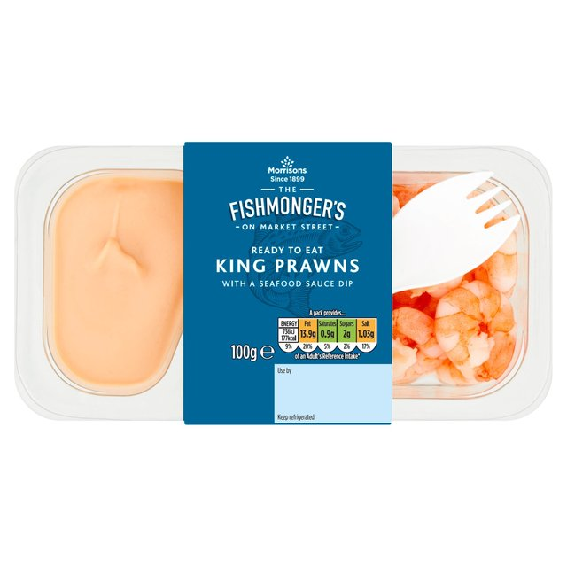 Morrisons Market St King Prawns With Seafood Sauce