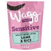 Wagg Sensitive Treats With Lamb & Rice