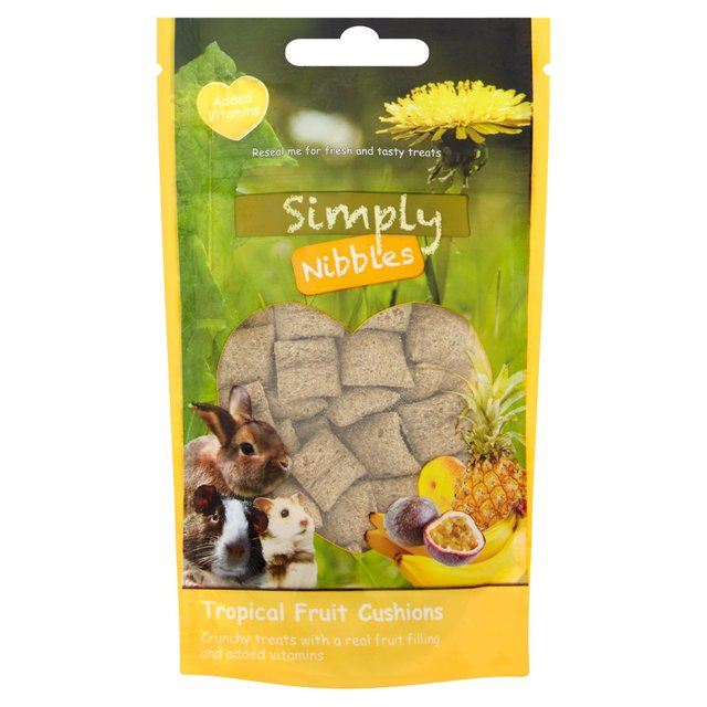 Morrisons: Simply Nibbles Tropical Fruits Cushions 50g