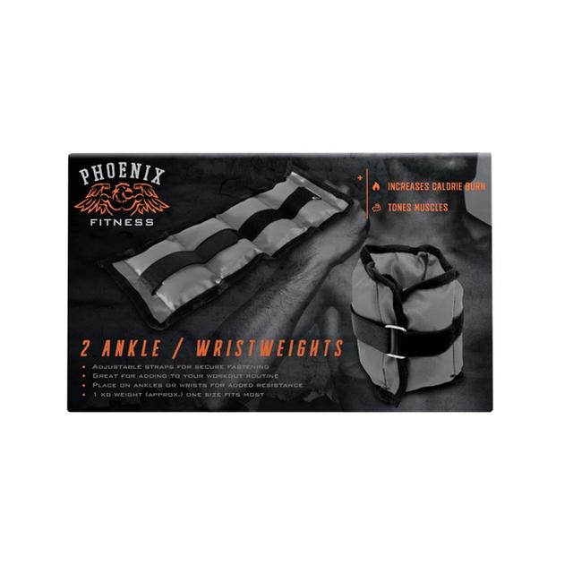 Phoenix Fitness 2 Ankle or Wrist Weights