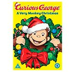 Curious George A Very Monkey Christmas DVD (U)