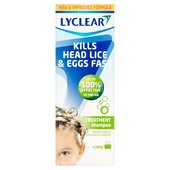 Lyclear Treatment Shampoo + Comb