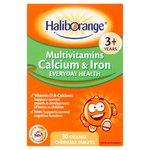 Haliborange Multivitamin Calcium & Iron Tablets 30s
