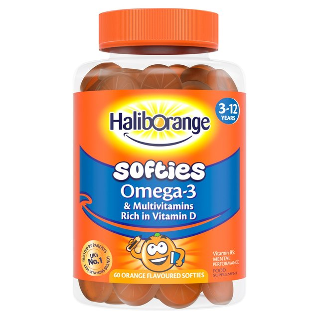 Haliborange Omega 3 & Multivitamin Softies 60s