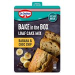 Dr. Oetker Bake In The Box Loaf Cake Mix Banana & Choc Chip