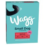 Wagg With Beef & Veg Small Dog Complete