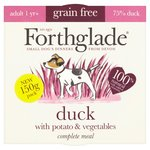 Forthglade Adult 1+ Grain Free Duck With Potato & Vegetables Complete Meal