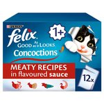Felix As Good As It Looks Cat Food Concoctions Meaty