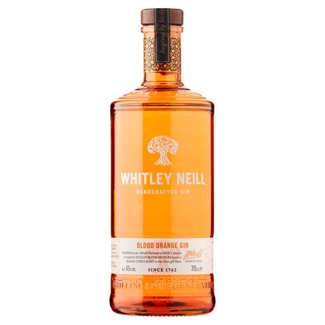 Whitley Neill Handcrafted Gin Blood Orange Gin (Abv 43%)