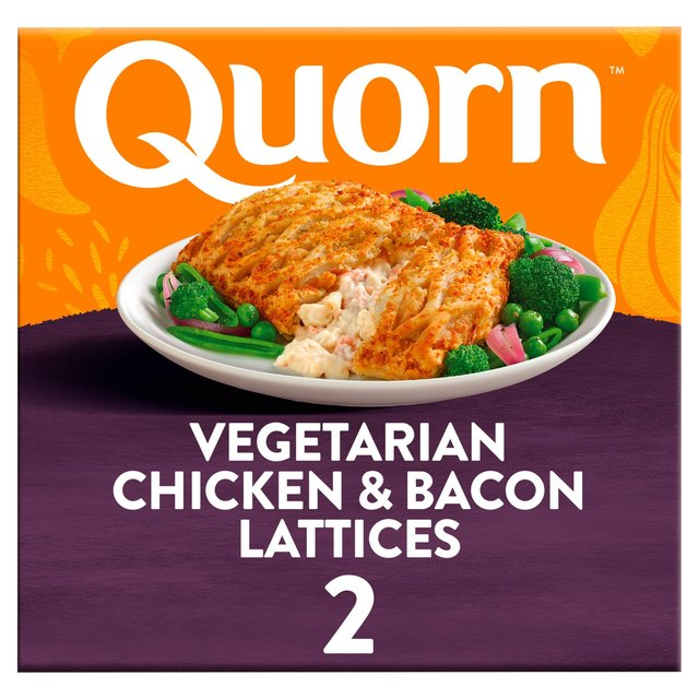 Morrisons: Quorn Meat Free Chicken & Bacon Lattice 2 Pack