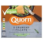 Quorn Vegan Breaded Fillets 200G