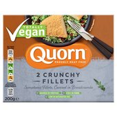 Quorn Vegan Breaded Fillets 2 Pack