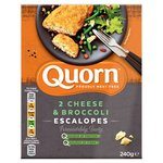 Quorn Cheese & Broccoli Escalopes 2 Pack