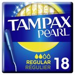 Tampax Pearl Regular Tampons Applicator