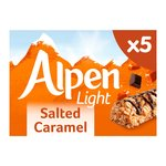 Alpen Light Salted Caramel 5 Bars