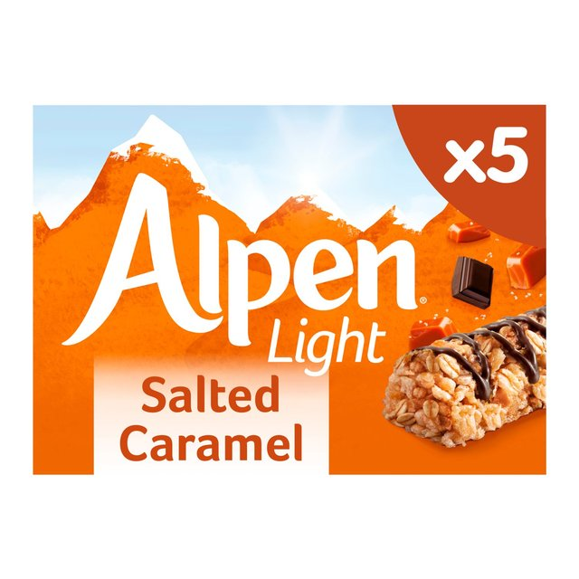 Morrisons alpen light salted caramel 5 bars 95gproduct information alpen light salted caramel 5 bars aloadofball Image collections