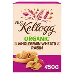 Kellogg's Organic Raisin Wheats