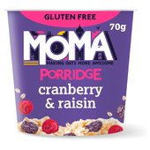 Moma Porridge Cranberry & Raisin