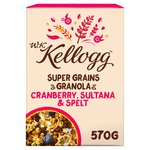 Kellogg's Super Grains Granola With Cranberries