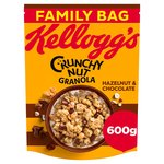 Kellogg's Crunchy Nut Glorious Oat Granola Cracking Hazelnuts & Chocolate