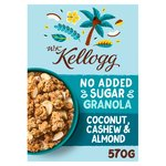Kellogg's No Added Sugar Granola With Cashews