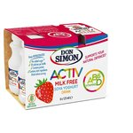 Don Simon Activ No Added Sugar Strawberry Soya Drink