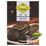 Morrisons Free From Cocoa & Vanilla Cream Wheels