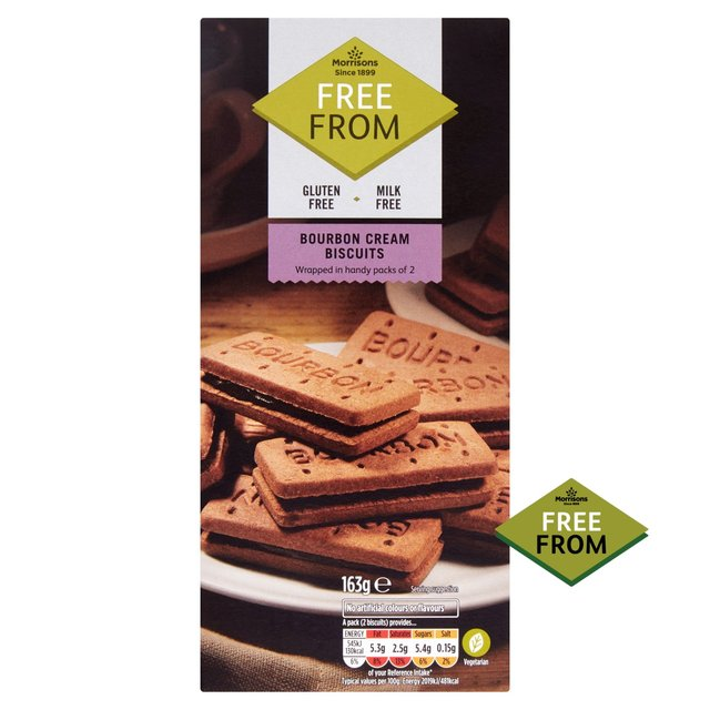 Morrisons Free From Bourbon Biscuits