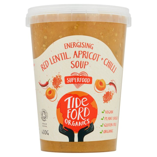 Tideford Organics Red Lentil Apricot + Chilli Soup