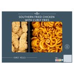 Morrisons Southern Fried Chicken & Curly Fries
