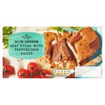 Morrisons Slow Cooked Beef Steak In Peppercorn Sauce