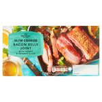 Morrisons Slow Cooked Bacon Belly Joint With Orange & Honey