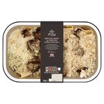 Morrisons The Best Beef & Porcini Open Ravioli With Truffle Cream