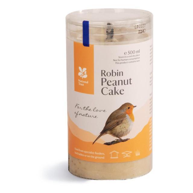 National Trust CJ Wildlife Gourmet Robin Peanut Cake