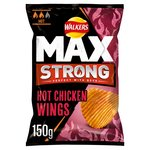 Walkers Max Strong Hot Chicken Wing Crisps