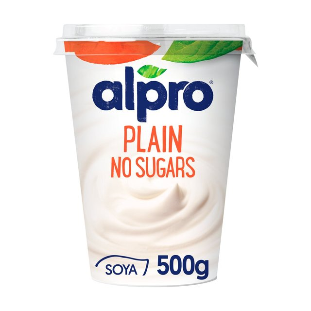 Alpro Plain Unsweetened No Sugars