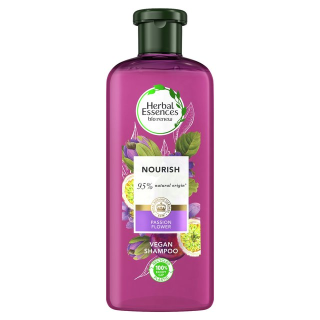 Herbal Essences Nourish Passion Flower & Rice Milk Shampoo