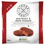 Strong Roots Beetroot & Bean Burger