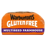 Warburtons Gluten Free Multiseed Farmhouse Loaf