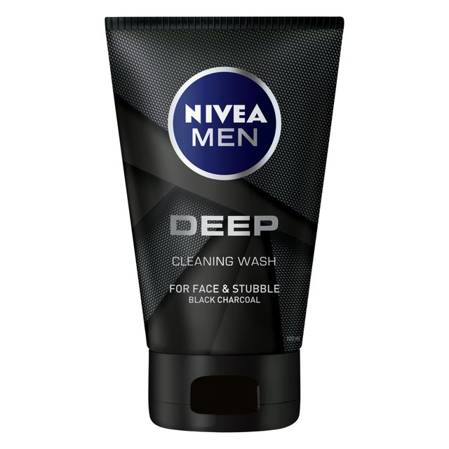 NIVEA MEN Face Cleaning Wash with Black Charcoal