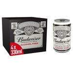 Budweiser Prohibition Brew Alcohol - Free (Abv 0%)