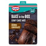 Dr. Oetker Bake In The Box Loaf Cake Mix Double Chocolate