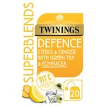 Twinings Superblends Defense 20 Single Tea Bags