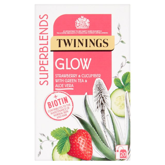 Twinings Superblends Glow 20 Single Tea Bags