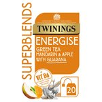 Twinings Superblends Energise 20 Single Tea Bags