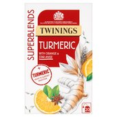 Twinings Superblends Turmeric 20 Single Tea Bags