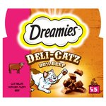 Dreamies Deli - Catz 80% Beef Cat Treats X5