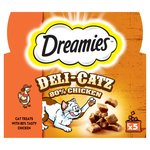 Dreamies Deli - Catz 80% Chicken Cat Treats X5