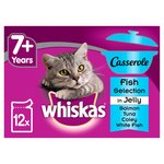 Whiskas Casserole 7+ Years Fish Selection In Jelly